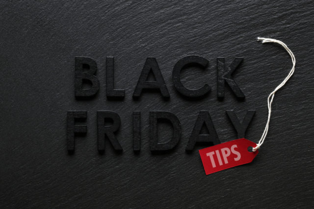 4 Financial Tips for Black Friday