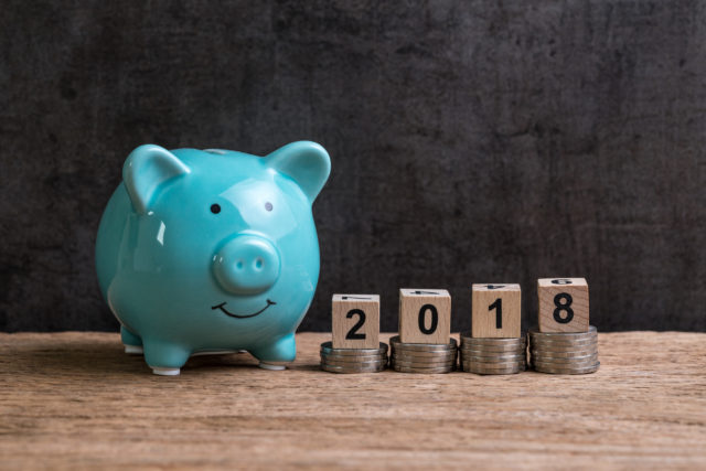 5 Reasonable Financial Goals to Reach in 2018