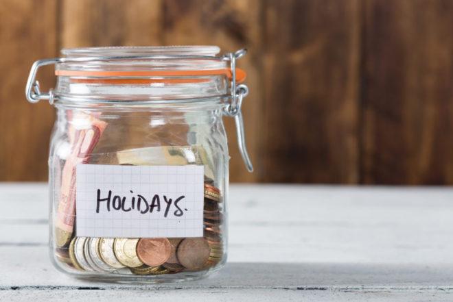 saving for the holidays