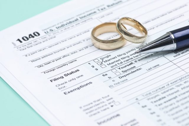 married filing taxes
